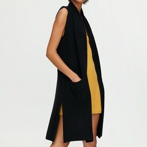 Olivie Aritzia Wilfred Cardigan Black